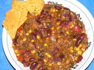 recept Chili con carne